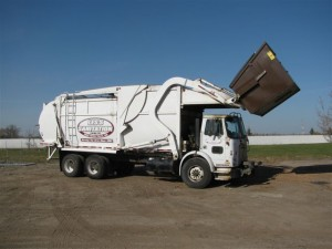 Our front load garbage truck